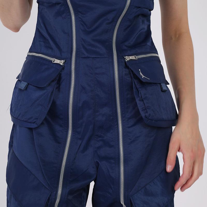 женский синий  комбинезон jordan flight suit CU6314-414 - цена, описание, фото 6