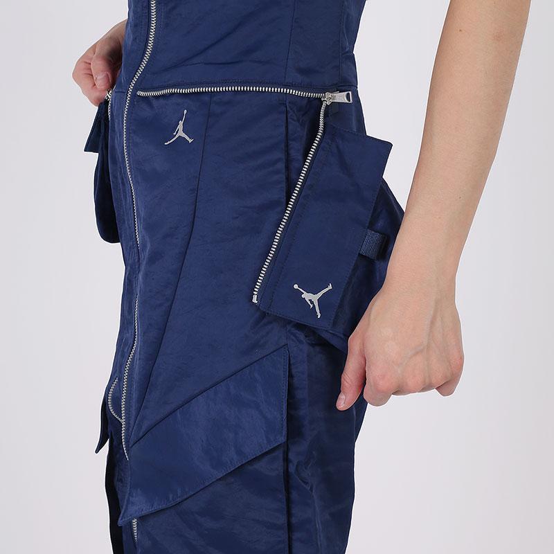 женский синий  комбинезон jordan flight suit CU6314-414 - цена, описание, фото 7