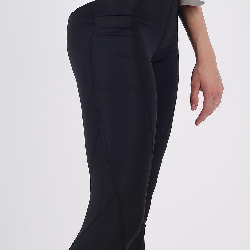 женские чёрные  тайтсы jordan essential 7/8 leggings CU6360-010 - цена, описание, фото 5