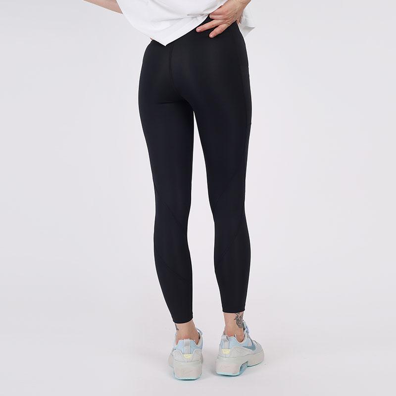 женские чёрные  тайтсы jordan essential 7/8 leggings CU6360-010 - цена, описание, фото 2