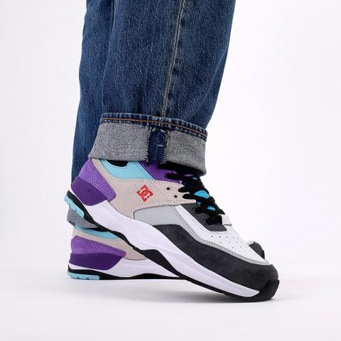 мужские разноцветные  кроссовки dc shoes e.tribeka se ADYS700142-wrq-wrq - цена, описание, фото 8