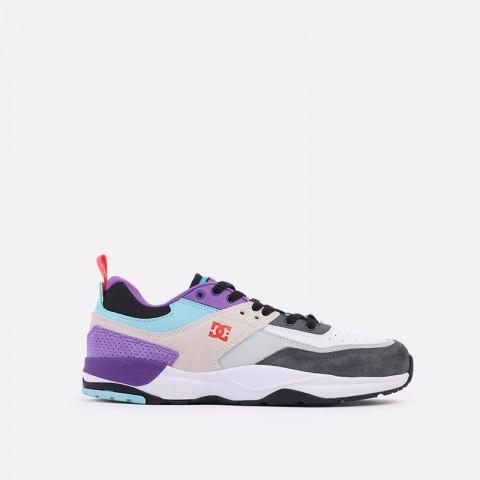 мужские разноцветные  кроссовки dc shoes e.tribeka se ADYS700142-wrq-wrq - цена, описание, фото 1