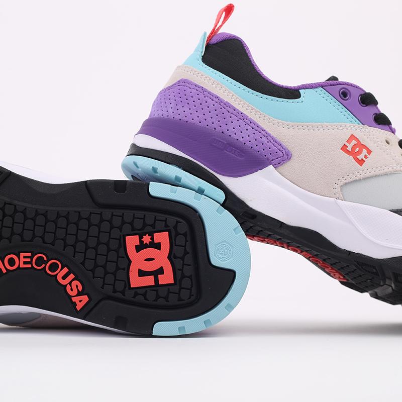 мужские разноцветные  кроссовки dc shoes e.tribeka se ADYS700142-wrq-wrq - цена, описание, фото 4