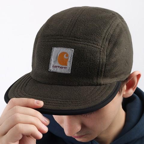 черную  кепка carhartt wip denby cap I028164-blk/cypress - цена, описание, фото 3