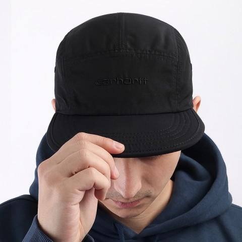 черную  кепка carhartt wip denby cap I028164-blk/cypress - цена, описание, фото 1