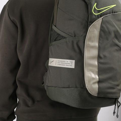 зелёный  рюкзак nike elite pro CK4237-325 - цена, описание, фото 2