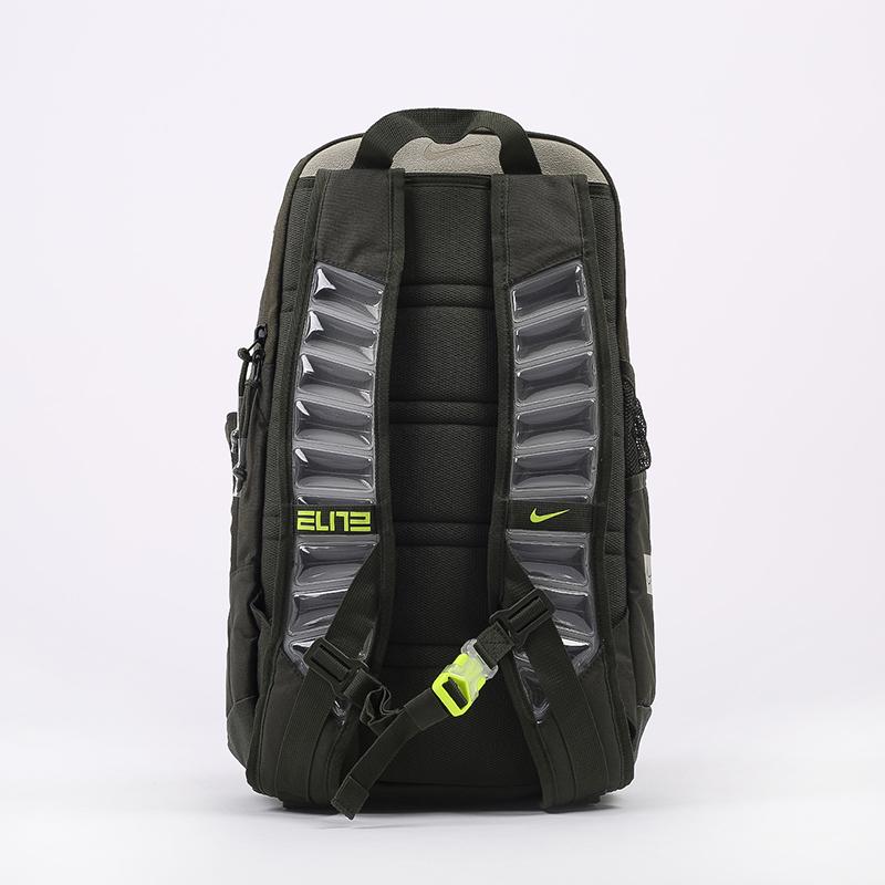 зелёный  рюкзак nike elite pro CK4237-325 - цена, описание, фото 4