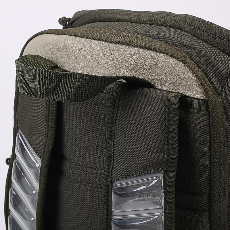 зелёный  рюкзак nike elite pro CK4237-325 - цена, описание, фото 5
