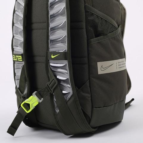 зелёный  рюкзак nike elite pro CK4237-325 - цена, описание, фото 6