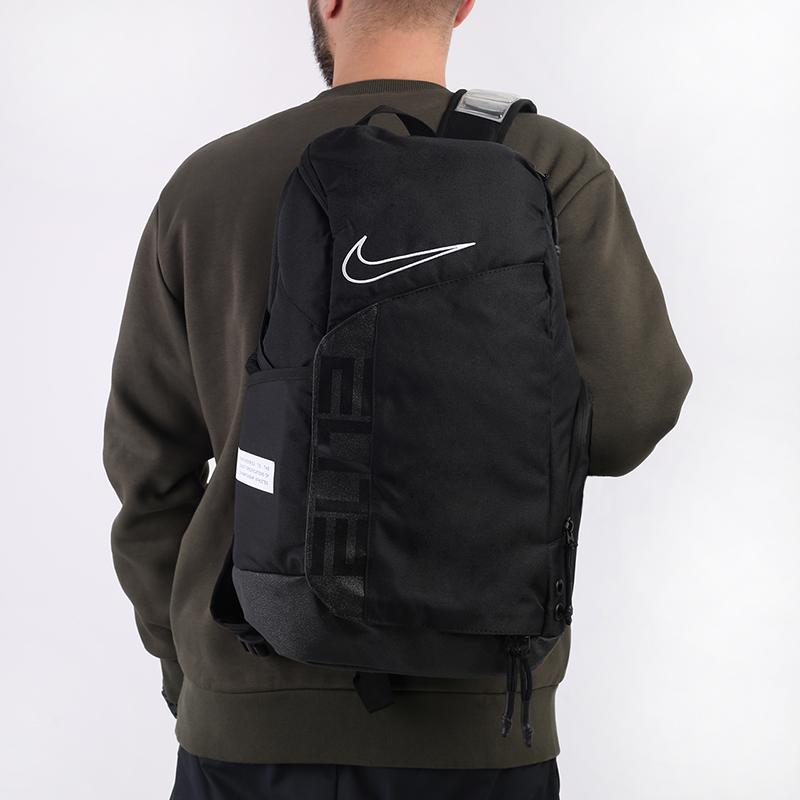 чёрный  рюкзак nike elite pro 23l CK4237-010 - цена, описание, фото 1