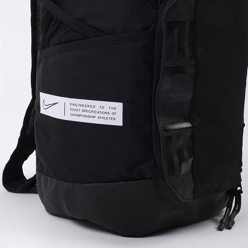чёрный  рюкзак nike elite pro 23l CK4237-010 - цена, описание, фото 4