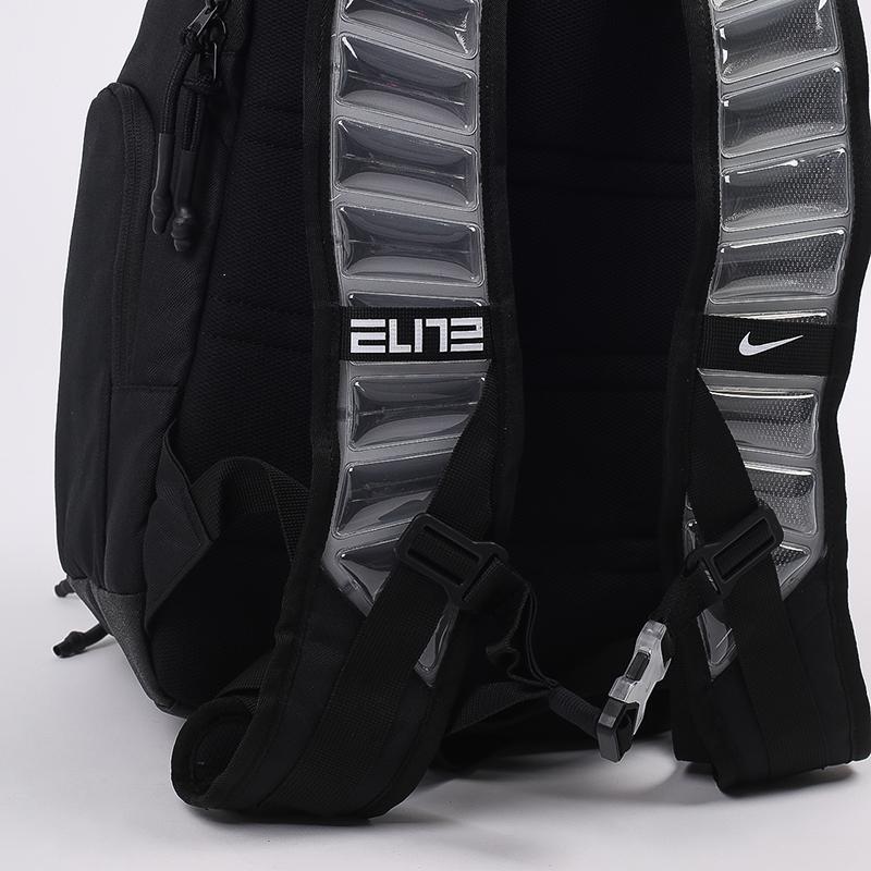 чёрный  рюкзак nike elite pro 23l CK4237-010 - цена, описание, фото 7