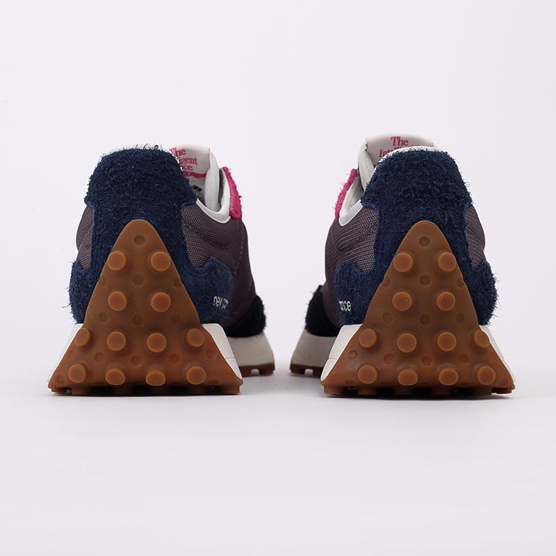 мужские разноцветные  кроссовки new balance 327 MS327SFB/D - цена, описание, фото 5