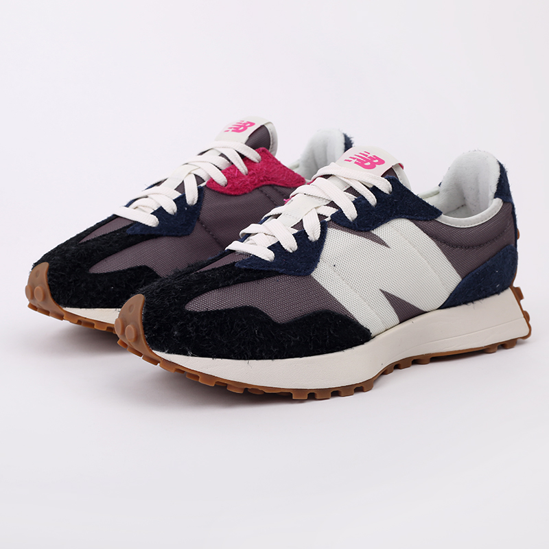 мужские разноцветные  кроссовки new balance 327 MS327SFB/D - цена, описание, фото 2