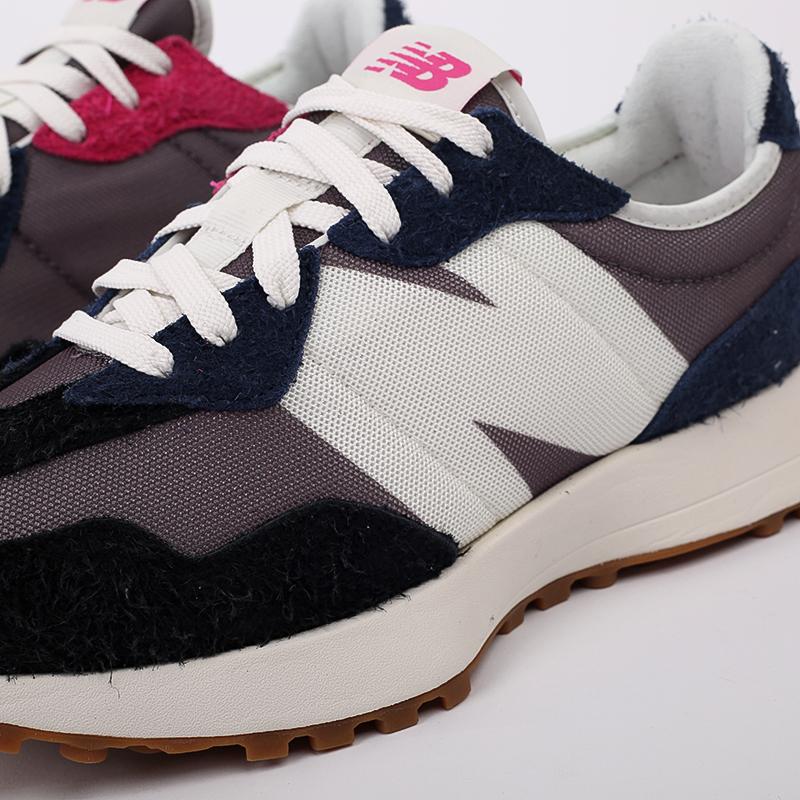 мужские разноцветные  кроссовки new balance 327 MS327SFB/D - цена, описание, фото 3