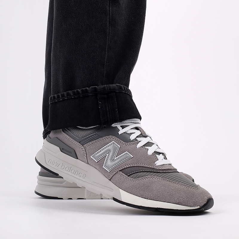 мужские серые  кроссовки new balance 997 CM997HCA/D - цена, описание, фото 9