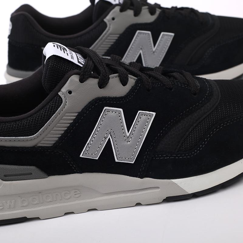 мужские чёрные  кроссовки new balance 997 CM997HCC/D - цена, описание, фото 7