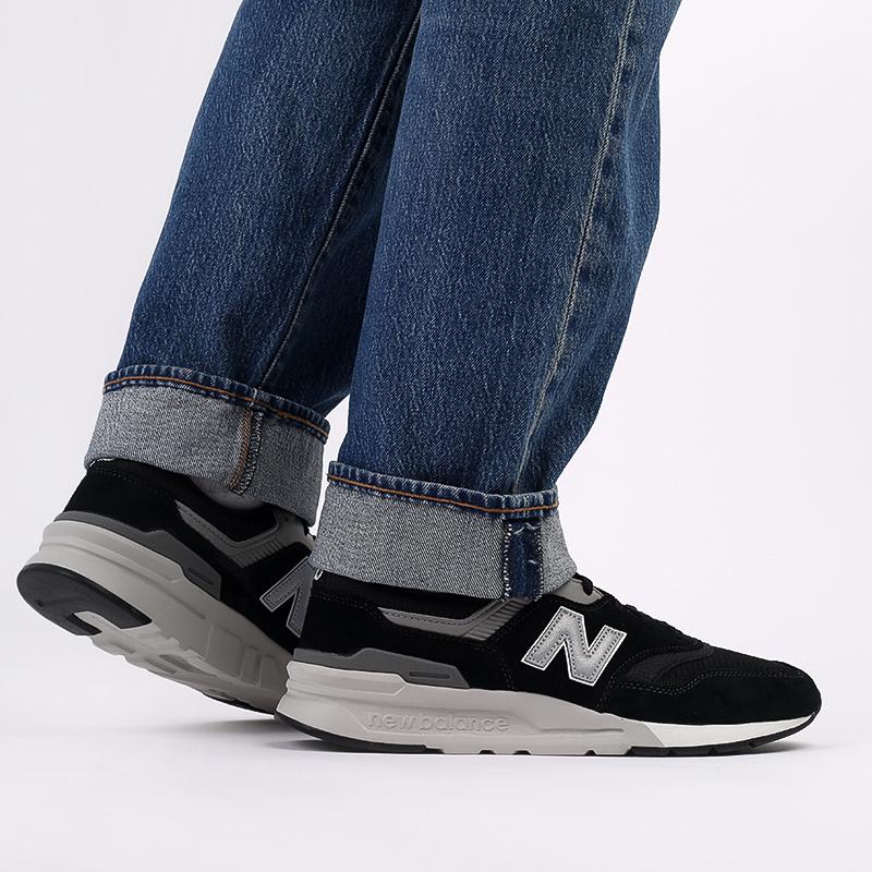 мужские чёрные  кроссовки new balance 997 CM997HCC/D - цена, описание, фото 9