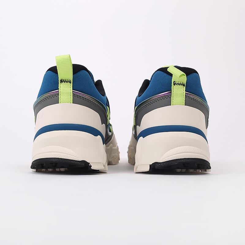 мужские синие  кроссовки puma trailfox overland mts ird 37340902 - цена, описание, фото 4