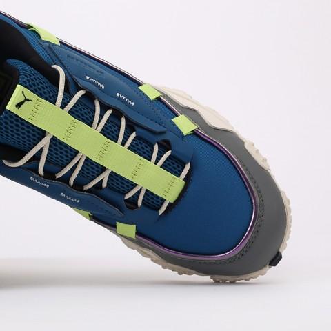 мужские синие  кроссовки puma trailfox overland mts ird 37340902 - цена, описание, фото 8
