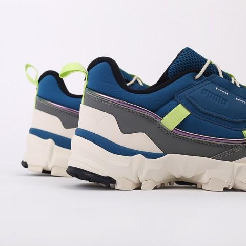 мужские синие  кроссовки puma trailfox overland mts ird 37340902 - цена, описание, фото 5