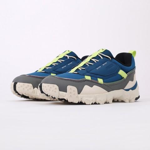 мужские синие  кроссовки puma trailfox overland mts ird 37340902 - цена, описание, фото 7