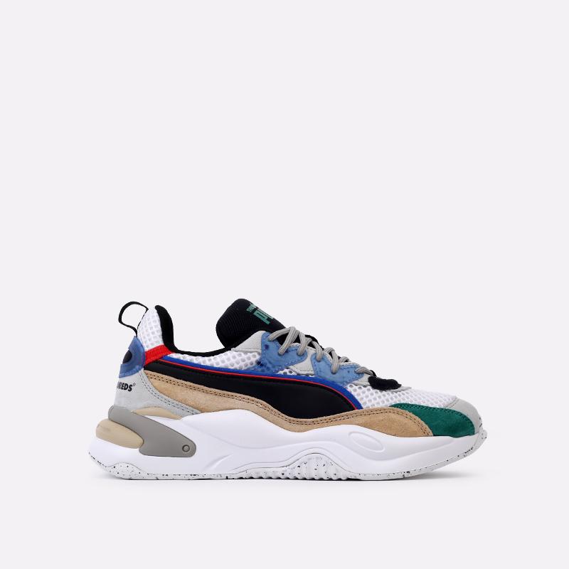 мужские разноцветные  кроссовки puma rs-2k hf x the hundreds 37372401 - цена, описание, фото 1