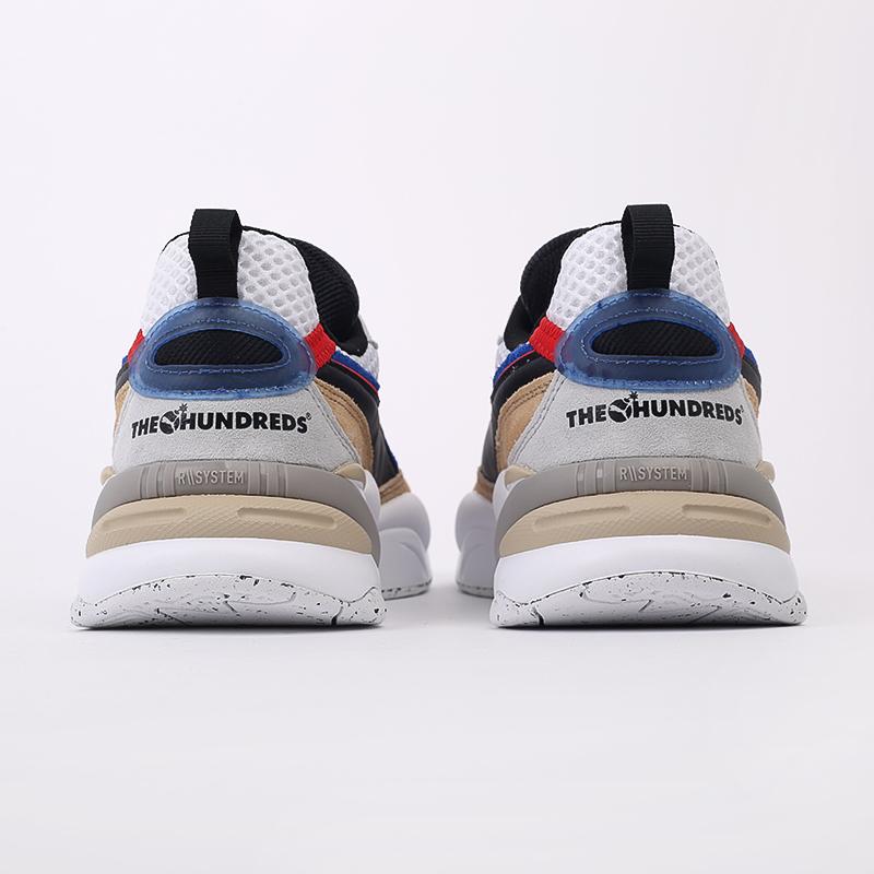 мужские разноцветные  кроссовки puma rs-2k hf x the hundreds 37372401 - цена, описание, фото 3