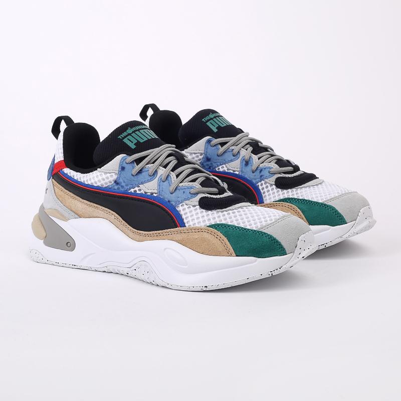 мужские разноцветные  кроссовки puma rs-2k hf x the hundreds 37372401 - цена, описание, фото 2