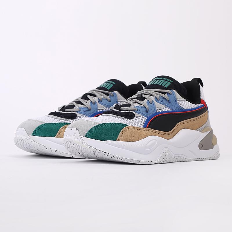 мужские разноцветные  кроссовки puma rs-2k hf x the hundreds 37372401 - цена, описание, фото 6