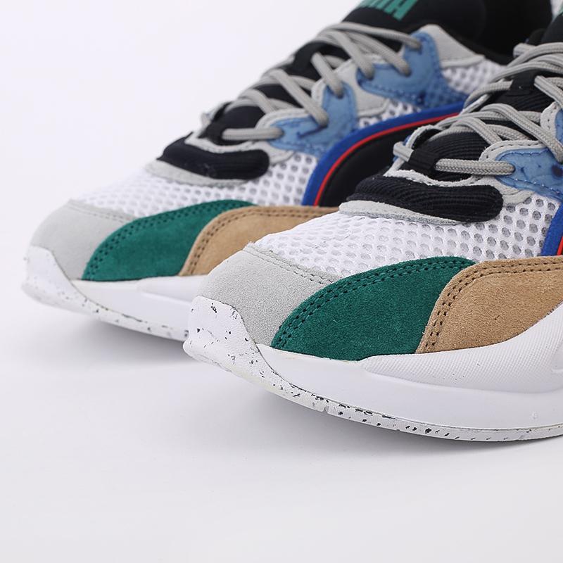 мужские разноцветные  кроссовки puma rs-2k hf x the hundreds 37372401 - цена, описание, фото 5
