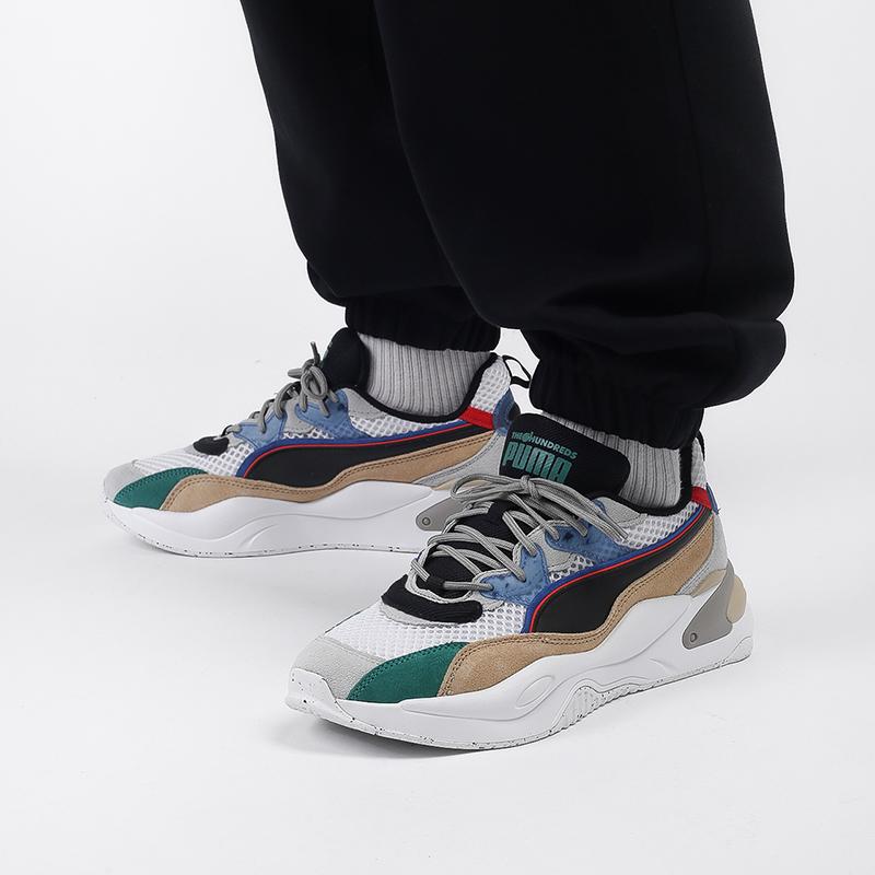 мужские разноцветные  кроссовки puma rs-2k hf x the hundreds 37372401 - цена, описание, фото 9