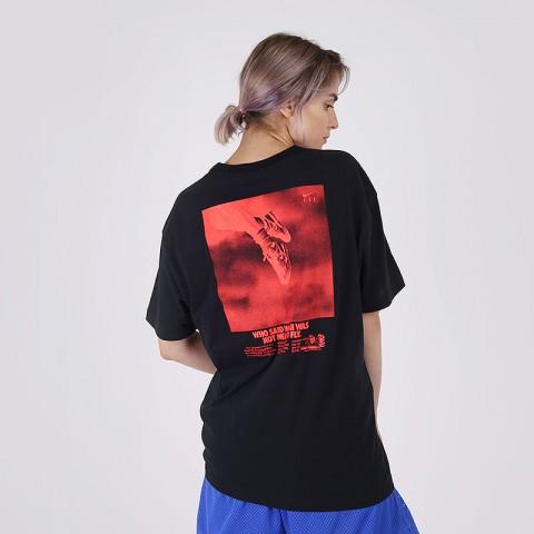 женскую чёрную  футболка nike fly CV0950-010 - цена, описание, фото 3