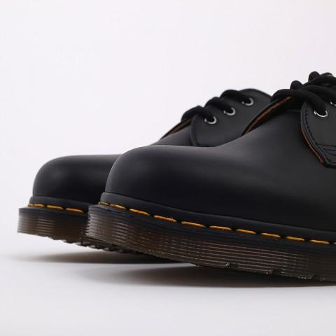 мужские чёрные  ботинки dr. martens 1461 11838001 - цена, описание, фото 4