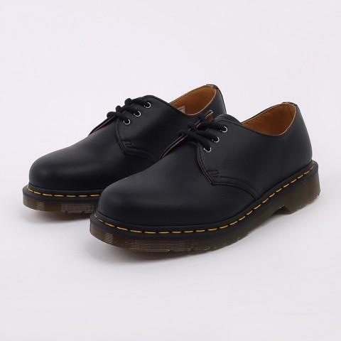 мужские чёрные  ботинки dr. martens 1461 11838001 - цена, описание, фото 7