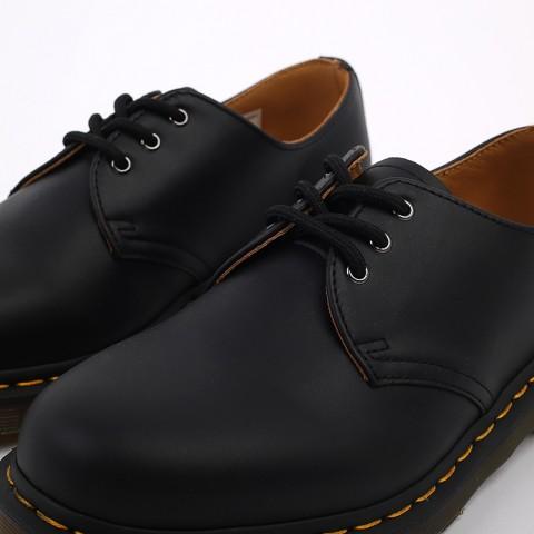 мужские чёрные  ботинки dr. martens 1461 11838001 - цена, описание, фото 6