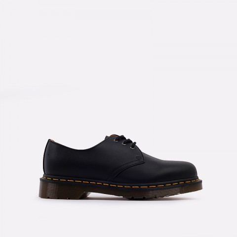 мужские чёрные  ботинки dr. martens 1461 11838001 - цена, описание, фото 1