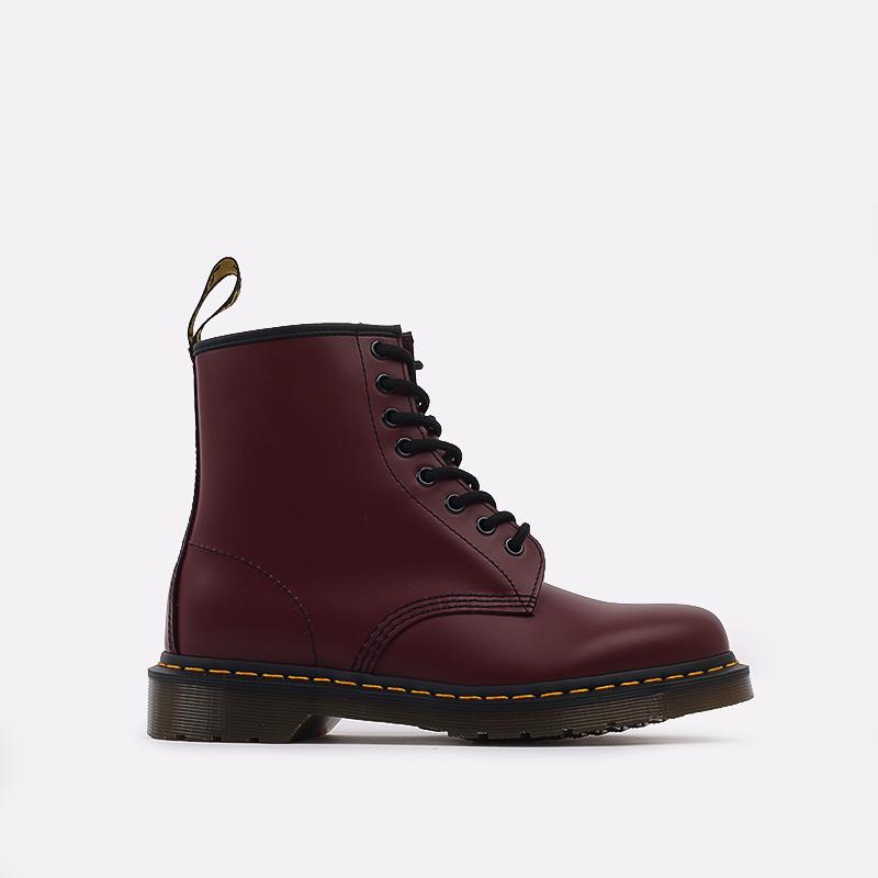 мужские бордовые  ботинки dr. martens 1460 11822600 - цена, описание, фото 1