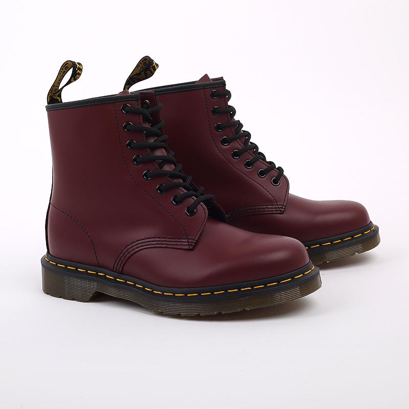 мужские бордовые  ботинки dr. martens 1460 11822600 - цена, описание, фото 2