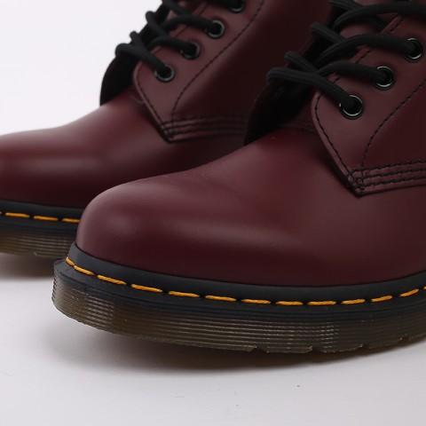 мужские бордовые  ботинки dr. martens 1460 11822600 - цена, описание, фото 5