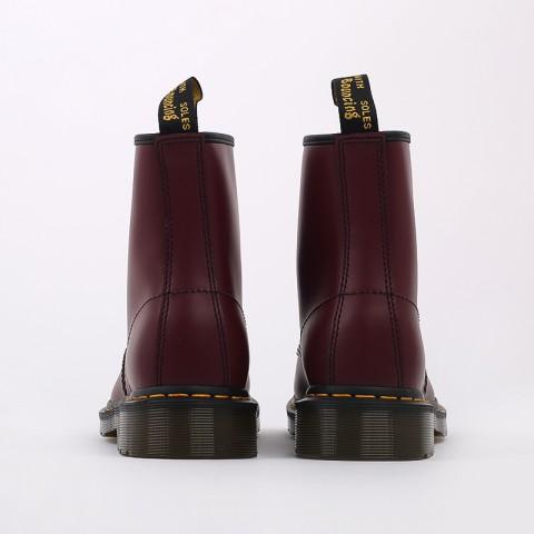 мужские бордовые  ботинки dr. martens 1460 11822600 - цена, описание, фото 6