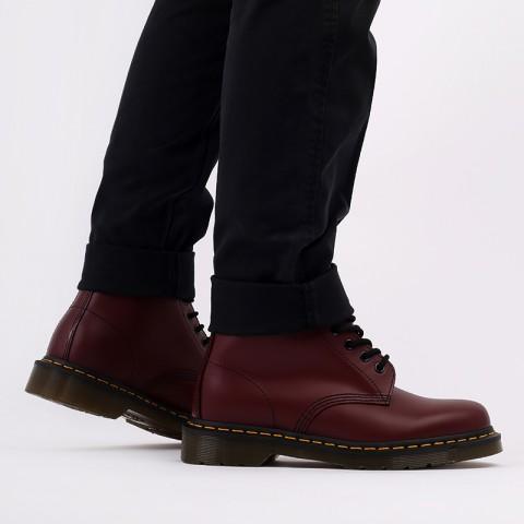 мужские бордовые  ботинки dr. martens 1460 11822600 - цена, описание, фото 7