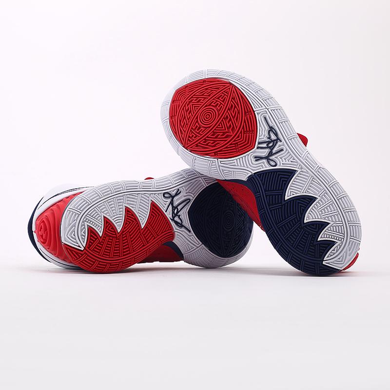 белые  кроссовки nike kyrie 6 BQ4630-102 - цена, описание, фото 5