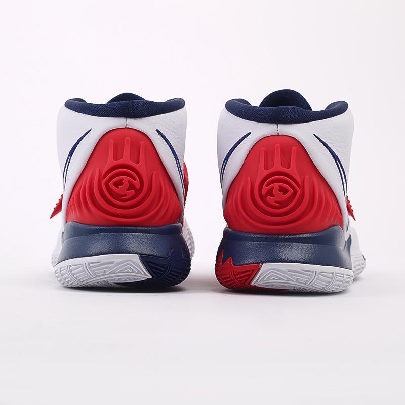 белые  кроссовки nike kyrie 6 BQ4630-102 - цена, описание, фото 3