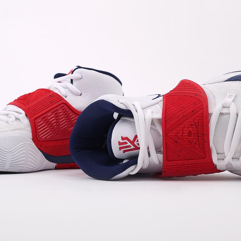 белые  кроссовки nike kyrie 6 BQ4630-102 - цена, описание, фото 7