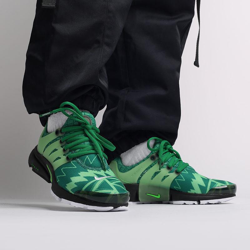 мужские зелёные  кроссовки nike air presto CJ1229-300 - цена, описание, фото 8