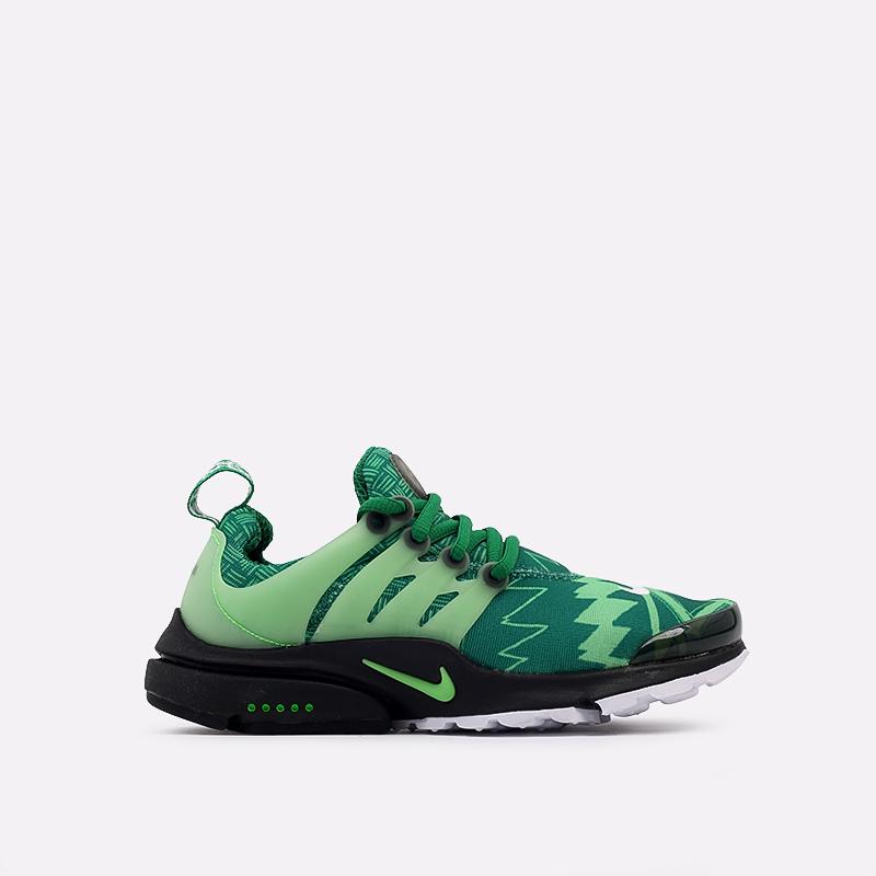мужские зелёные  кроссовки nike air presto CJ1229-300 - цена, описание, фото 1