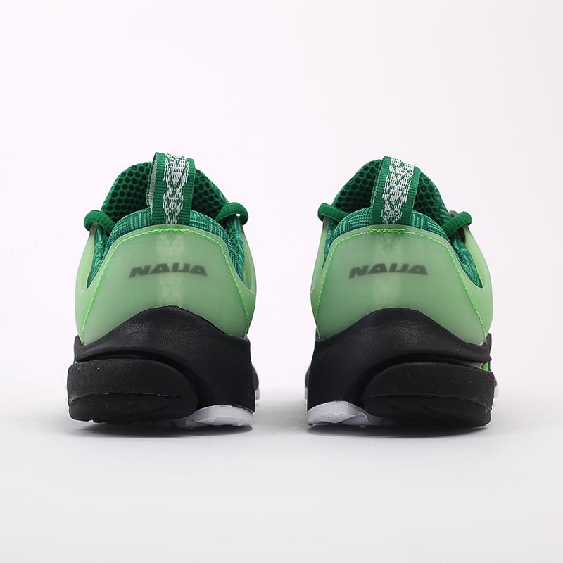 мужские зелёные  кроссовки nike air presto CJ1229-300 - цена, описание, фото 3