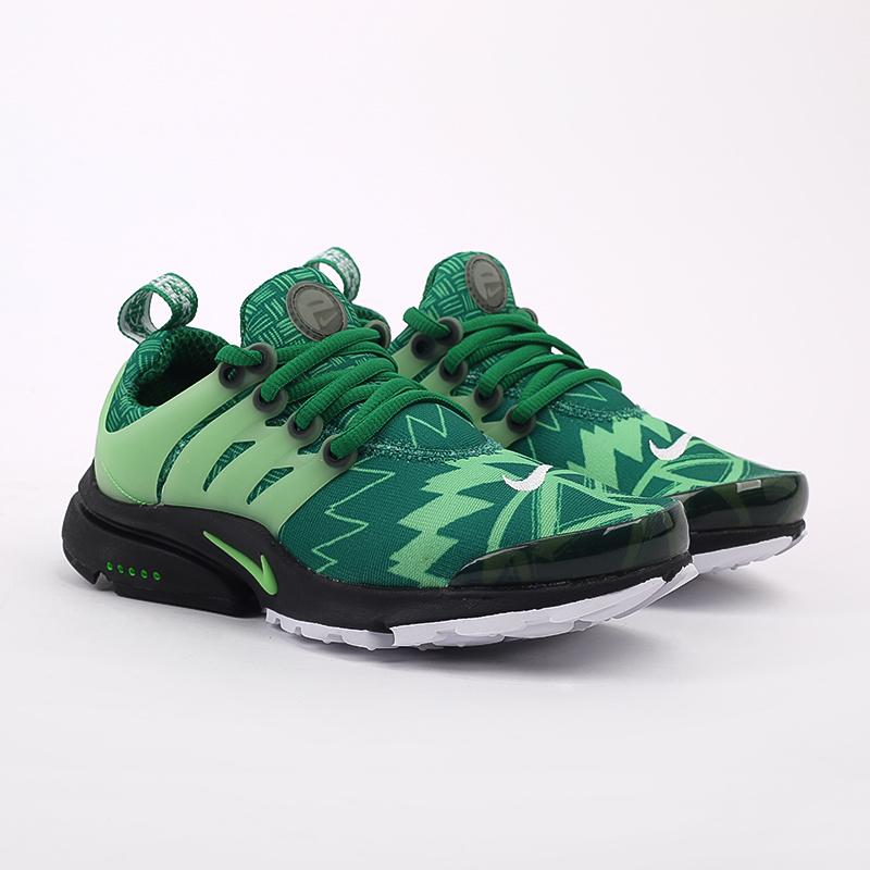мужские зелёные  кроссовки nike air presto CJ1229-300 - цена, описание, фото 2