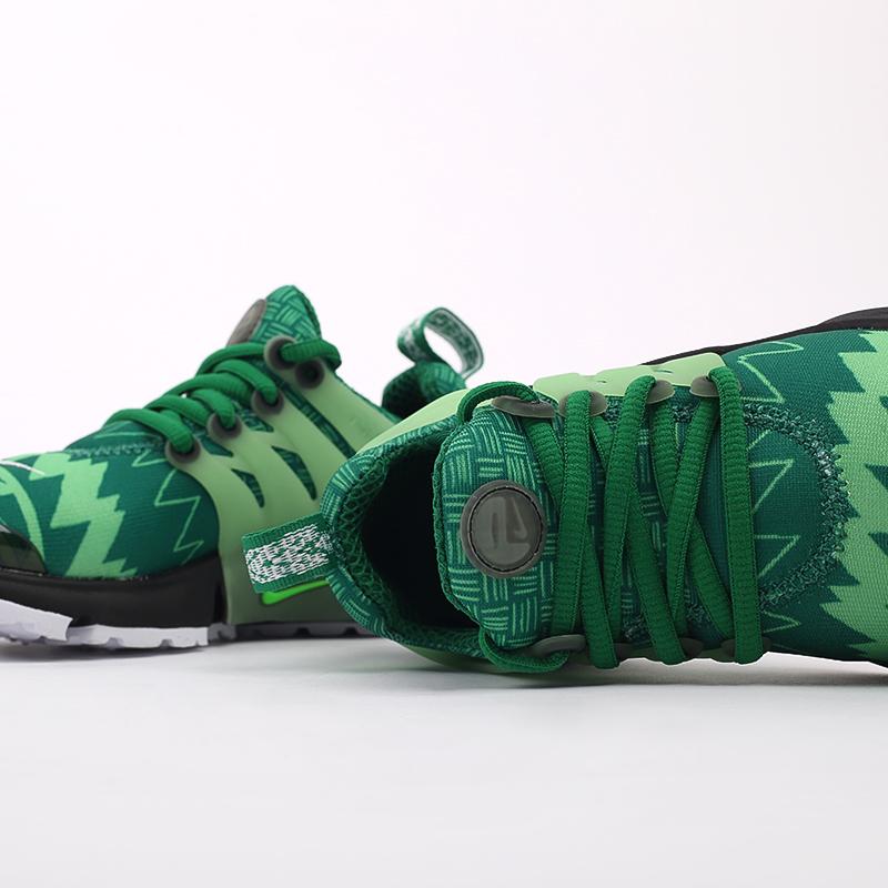 мужские зелёные  кроссовки nike air presto CJ1229-300 - цена, описание, фото 6